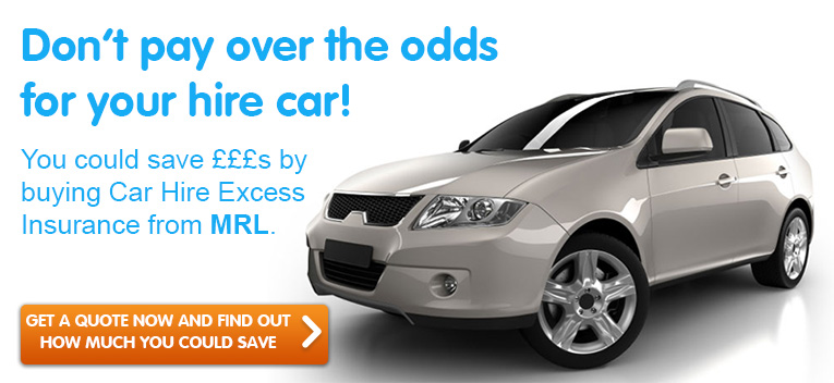 MRL Car Hire Excess